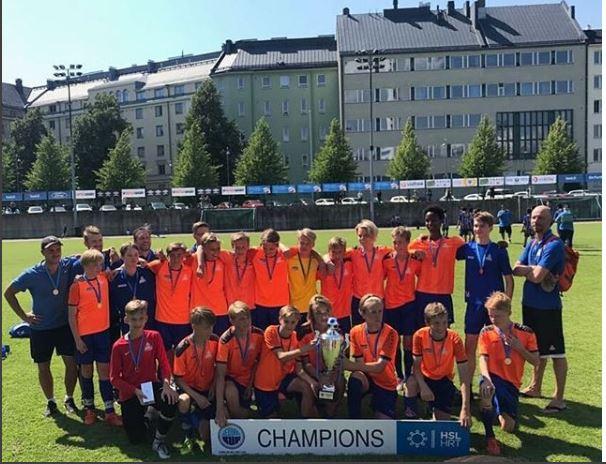 PPJ menestyksekkäänä Helsinki Cupissa