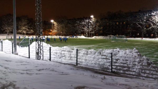 Väiskillä treenataan myös talvella