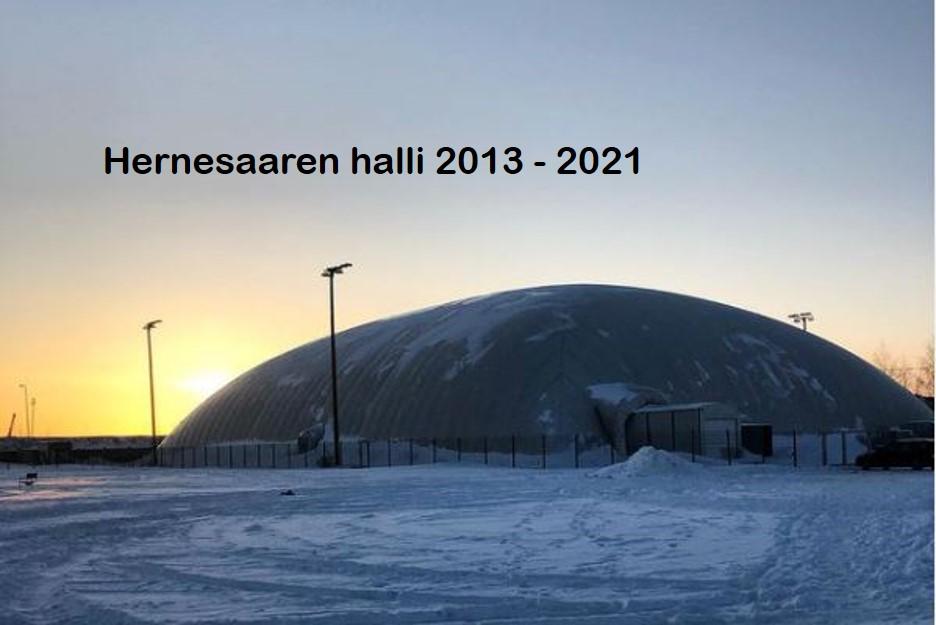 Hernesaari 2013-2021