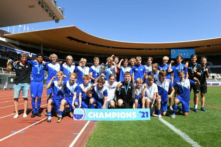 PPJ:lle kaksi kultaa Helsinki Cupista
